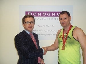 Kevin Donoghue, solicitor with Les Irving
