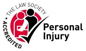 Picture of The Law Society's Personal Injury Panel logo. Only personal injury solicitors appointed to the Panel may use it.