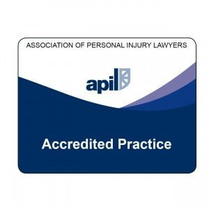 Picture of the APIL Accredited Practice logo.