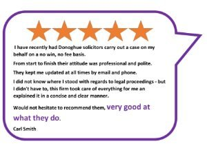 Funding options and no win no fee police claims donoghue solicitors instructing donoghue solicitors on a private client basis platinumwayz