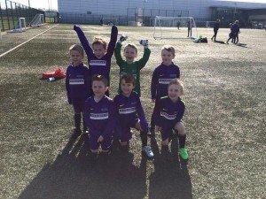 Photo of the Springwell Park football team at Finch Farm.