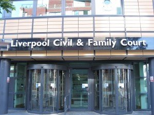Liverpool Civil and Family Court. Photo by Donoghue Solicitors Liverpool.